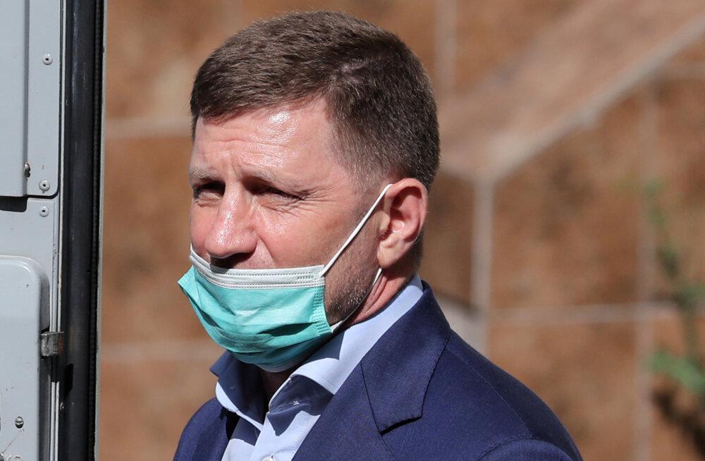 TASS: Uuritakse Habarovski endise kuberneri Furgali osalust veel kahes ärimeeste mõrvas ja mõrvakatses