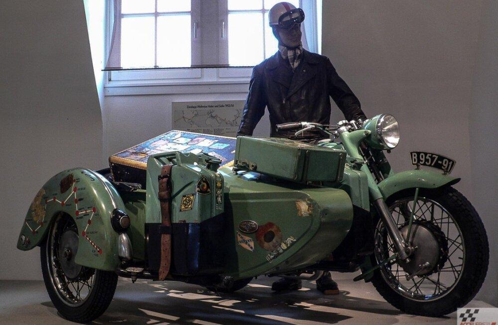 Motoexotika eri: mootorrattakunn Zündapp tähistab sajandat juubelit