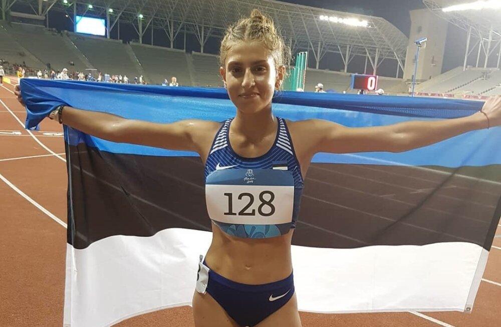Jekaterina Mirotvortseva võitis noorte olümpiafestivalil võimsa ülekaaluga kuldmedali