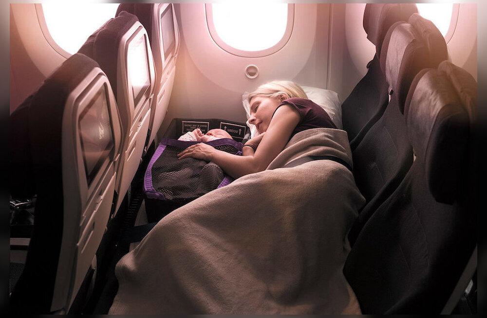 Lapsevanemad, rõõmustage! Lõpuks ometi on lennufirmad hakanud leidma lahendusi, kuidas väikelastega reisimine meeldivamaks muuta