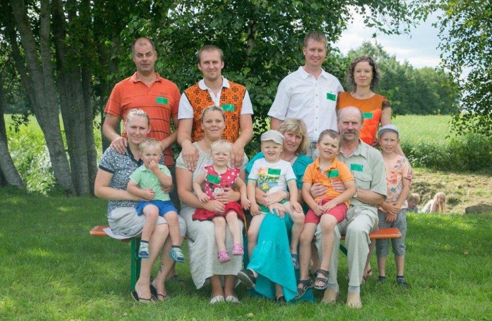 EOK tunnustab Eestimaa sportlikke perekondi