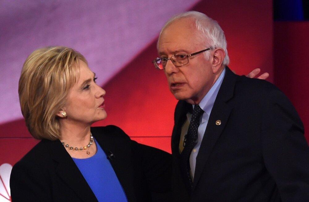 Mõnedes Iowa valimisringkondades otsustas Clintoni ja Sandersi vahelise paremuse kull või kiri