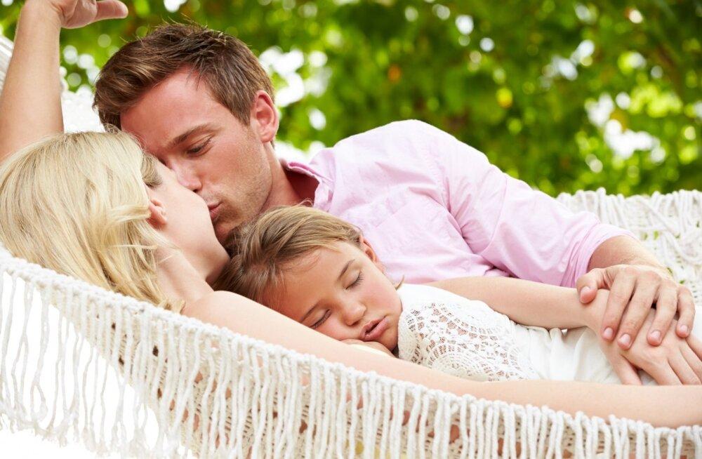 Lapsed võtavad omaks vanemate omadused.