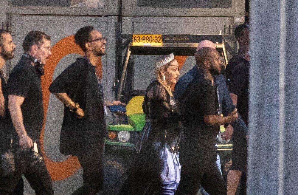 Madonna Tel Aviv EXPOs Eurovisionil