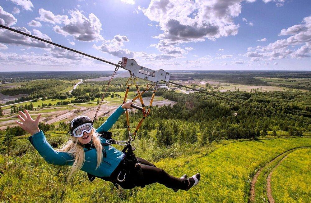 Täielik adrenaliinilaks: vaata, milliseid põnevaid seiklusparke Eestis leidub, millest sul varem aimugi polnud!