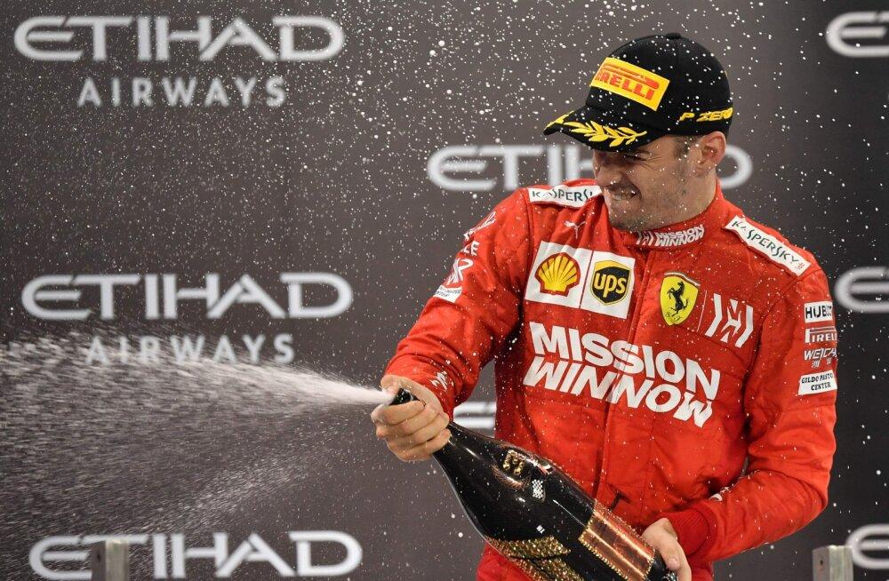 Leclercile jäi poodiumikoht alles, Ferrarile tehti 50 000 eurot trahvi