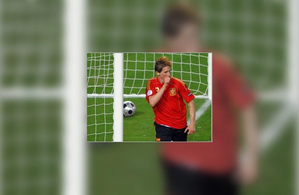 Torres on Saksamaale värava löönud