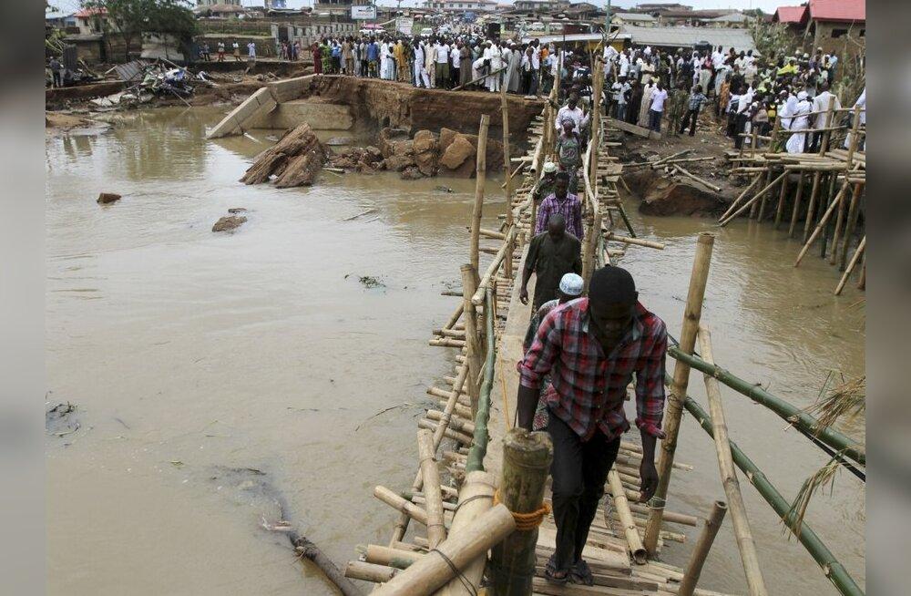 Nigeeria edelaosa tulvades hukkus 102 inimest