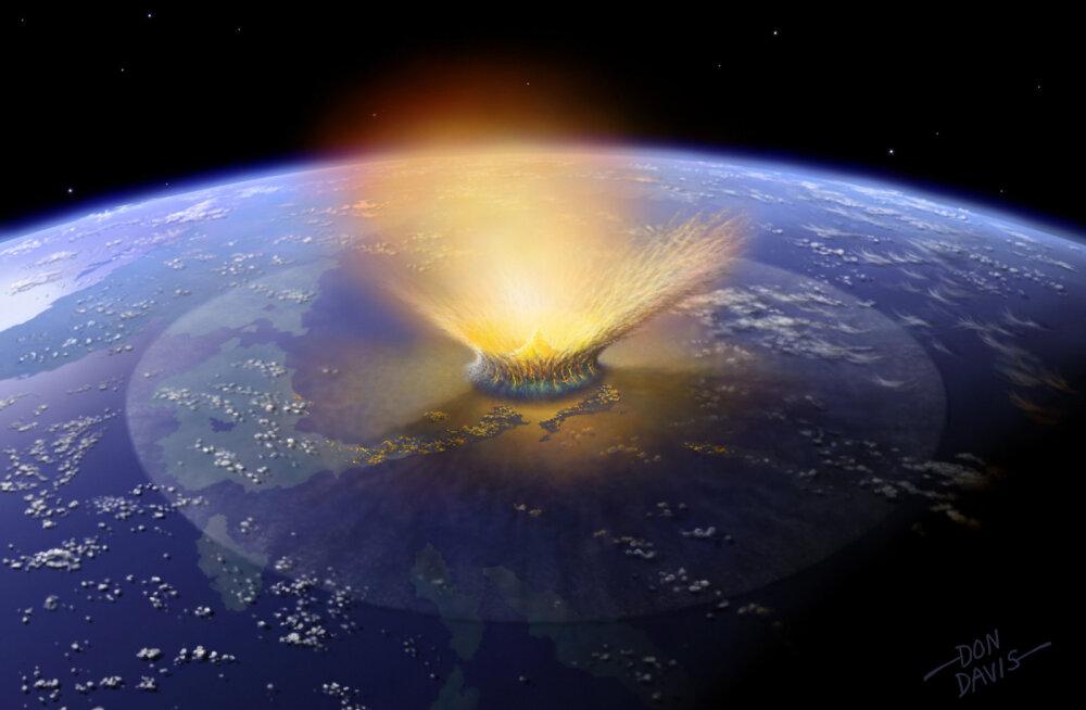 Uued tõendid: dinosaurustele sai tõepoolest hukatuslikuks Maaga kokku põrganud asteroid