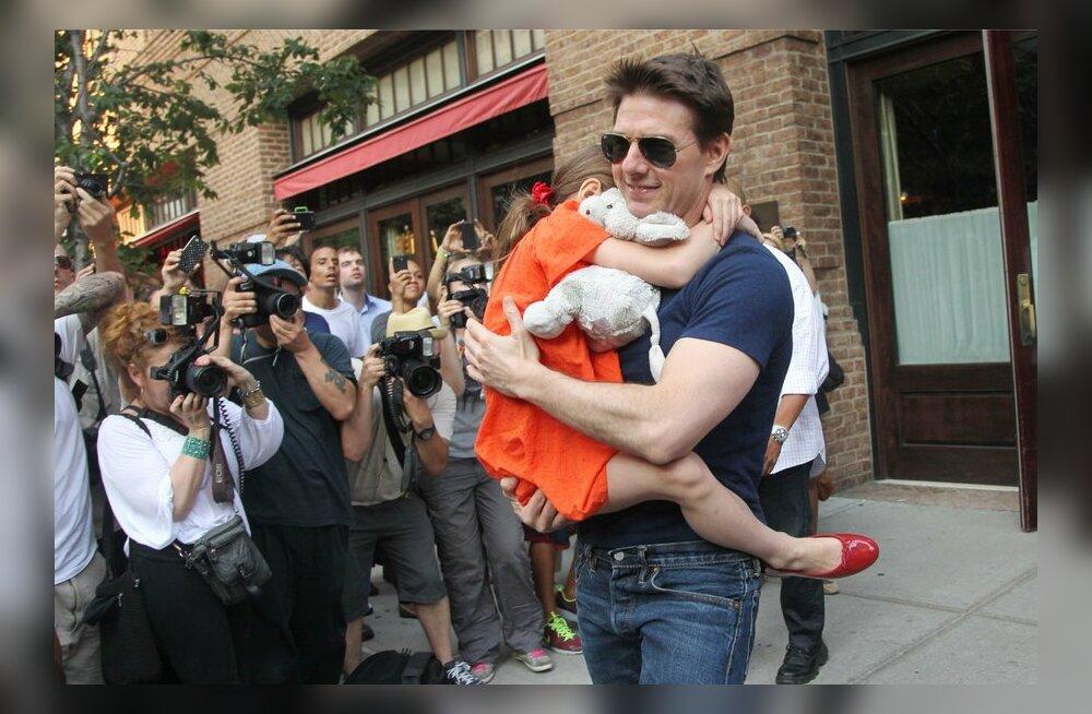 Tom Cruise tütrega