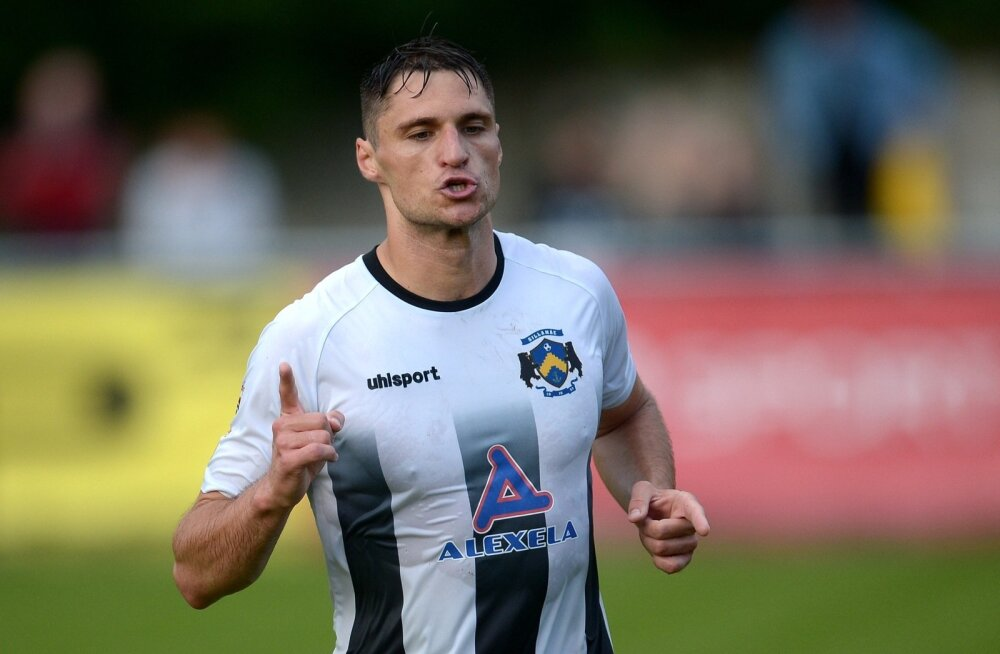 Jalgpall Sillamae Kalev vs Tammeka 30.07.16