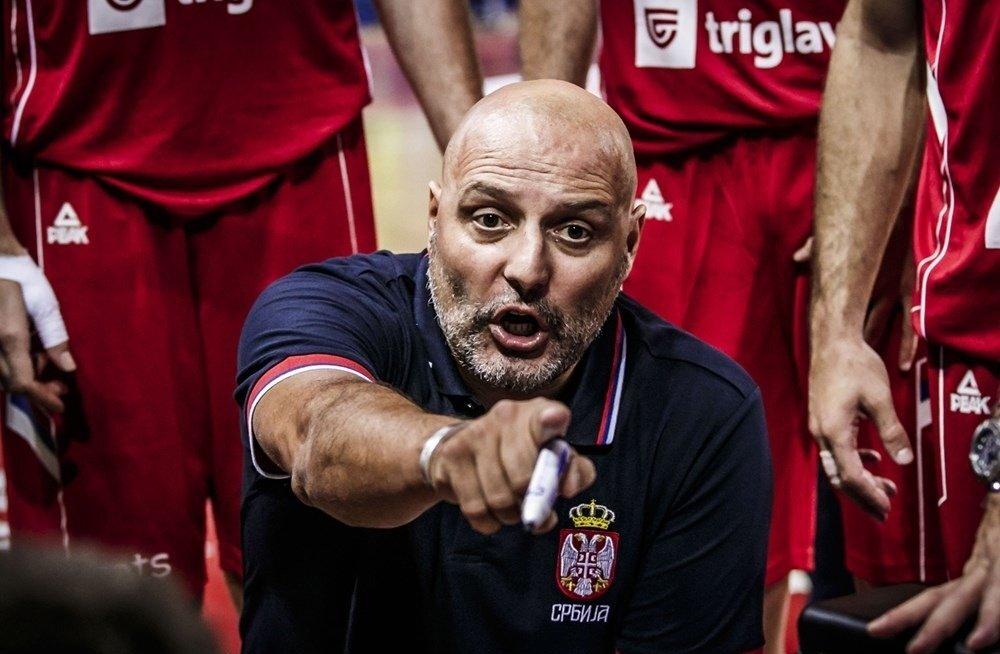 Serbia koondise peatreener Aleksandar Djordevic