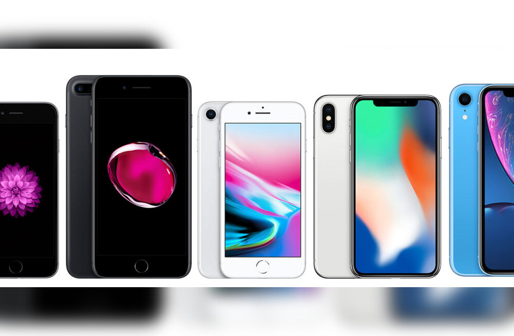 SUUR VÕRDLUS | Milline iPhone sobib just sulle?