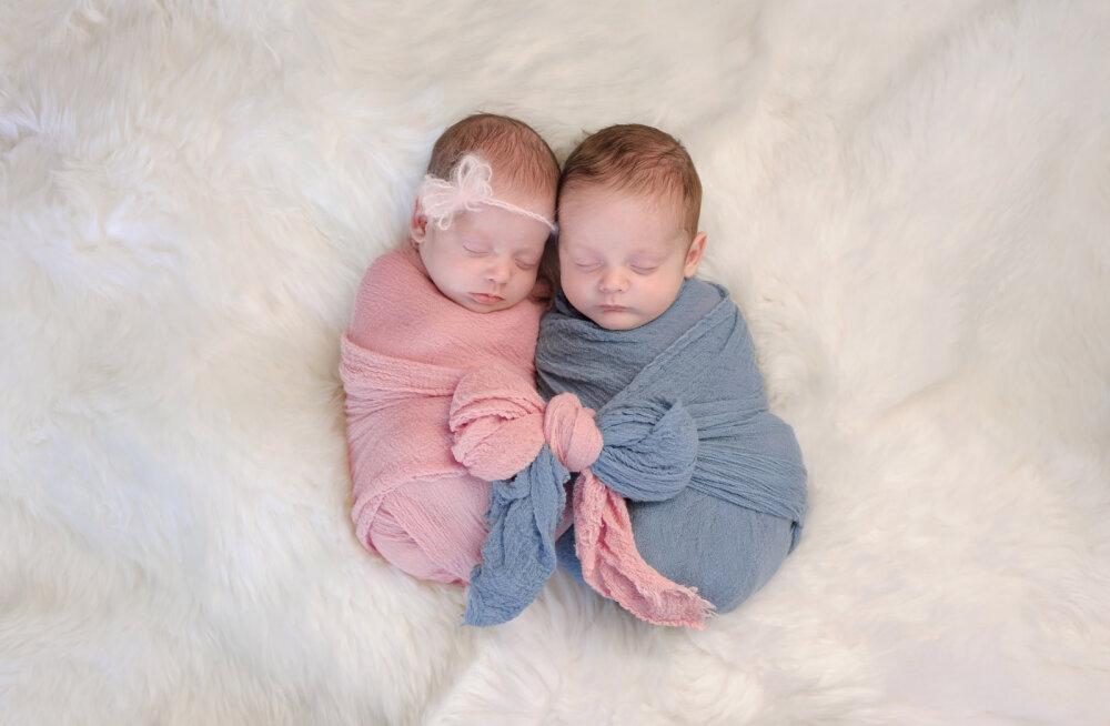 Vahva! Uusaastaööl tulid ilmale kaksikud, kelle sünnipäev sattus erinevatele aastakümnetele