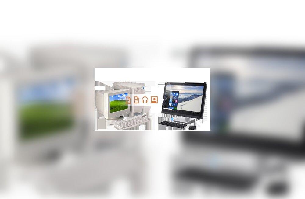 Lihtne lahendus, kuidas toimetada oma kraam vanast uude Windows 10-ga arvutisse