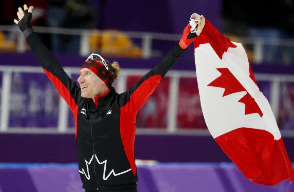 Krüptorahas palka saav Kanada olümpialane võitis kiiruisukulla