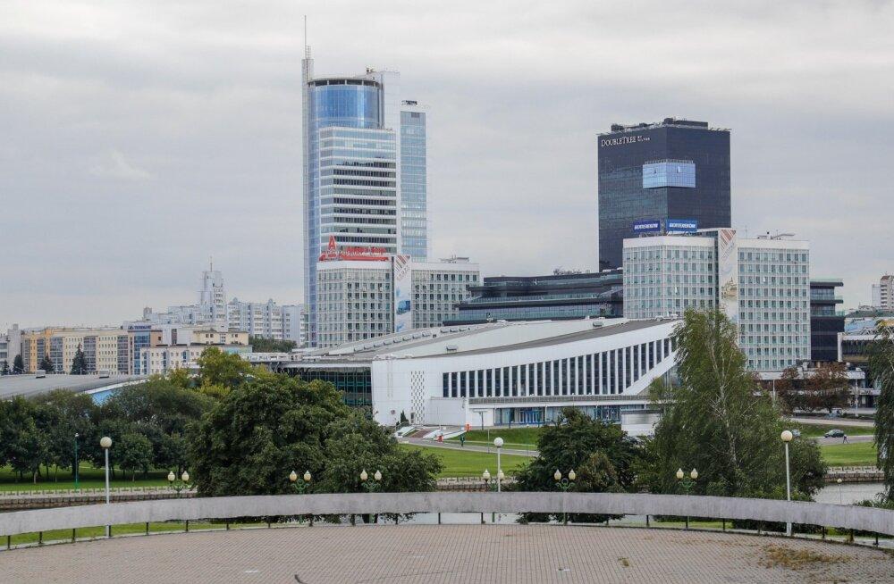 Eesti korvpallikoondis saabus Minskisse