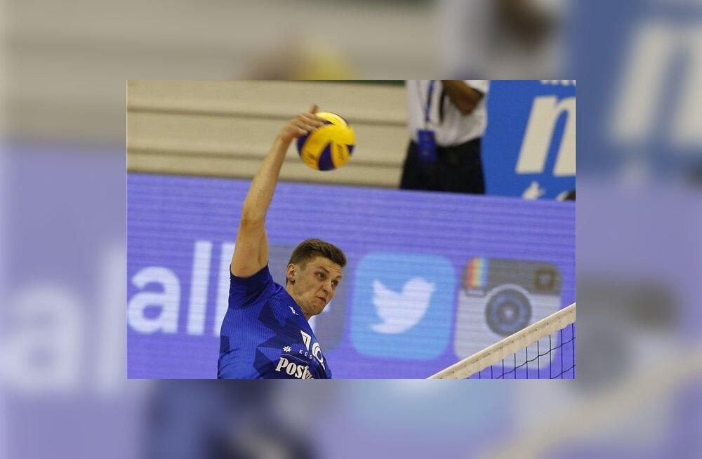 Miks muudeti Eesti võrkpallikoondise poolfinaali aega?