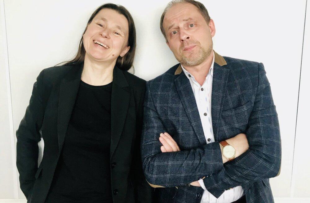 Meelis Malk ja Anu-Mall Naarits.