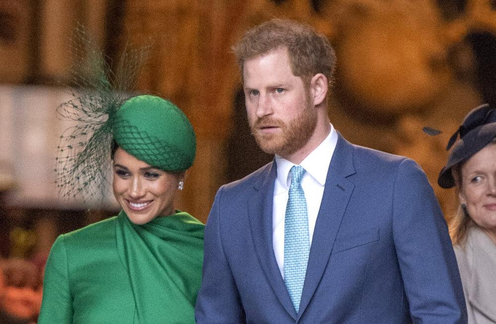 Uued tuuled! Kuninglikust elust loobunud Harry ja Meghan saavad endale tavalised perekonnanimed