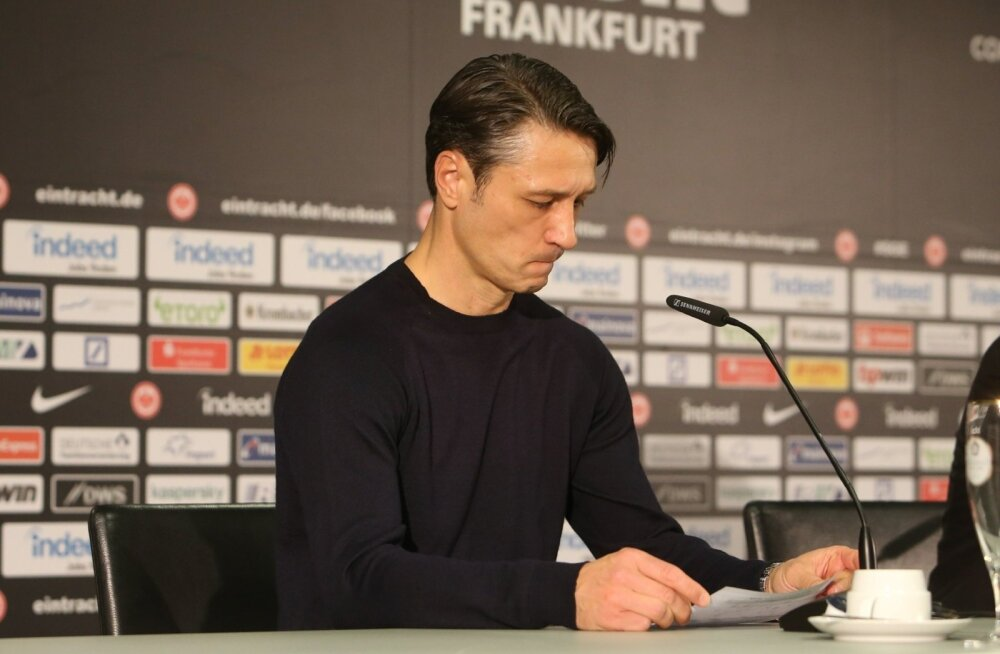 Niko Kovaci karjääri Münchenis sai läbi pärast laupäevast kaotust Frankfurdis.