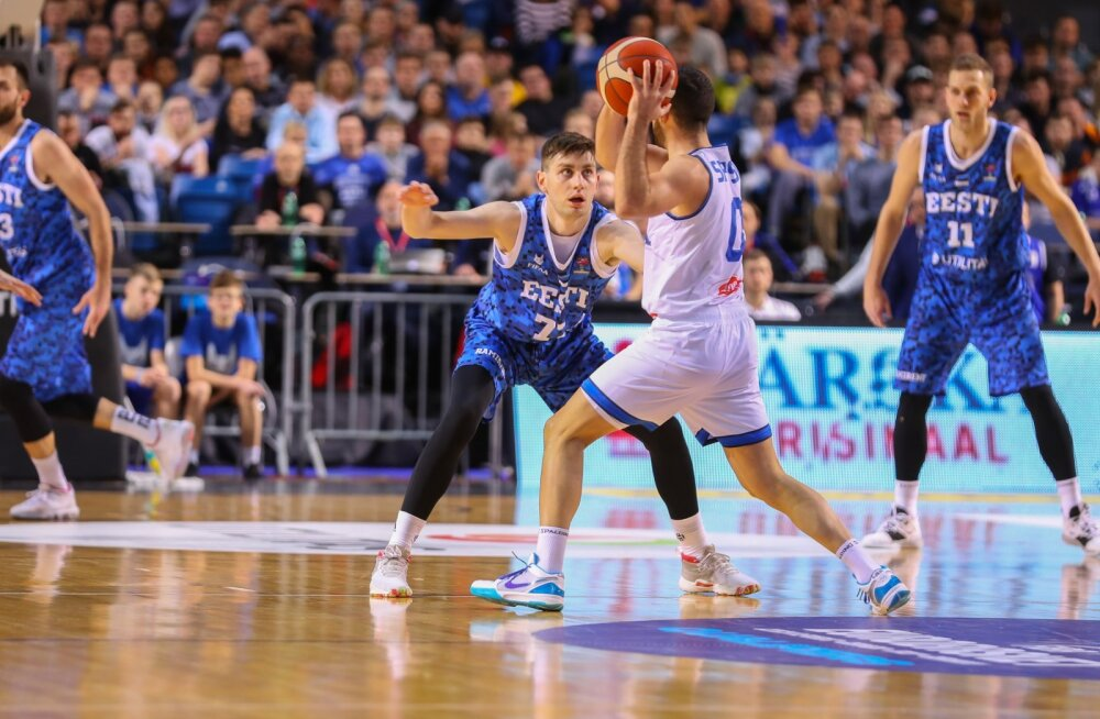 Eesti vs Itaalia korvpall