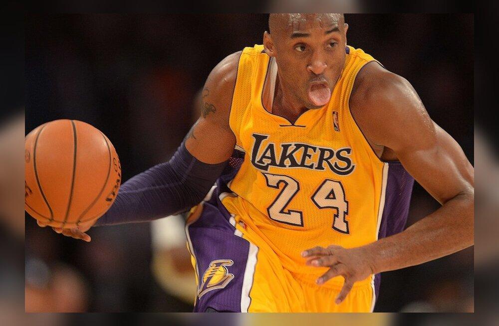 VIDEO: Bryant viskas 47 punkti ja tüüris Lakersi olulise võiduni