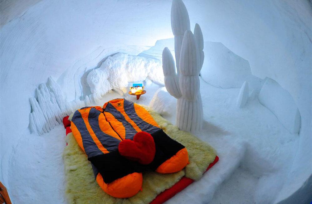 Iglust Lapimaal Aladini koopani: vaata Airbnb kõige omanäolisemaid majutuskohti!