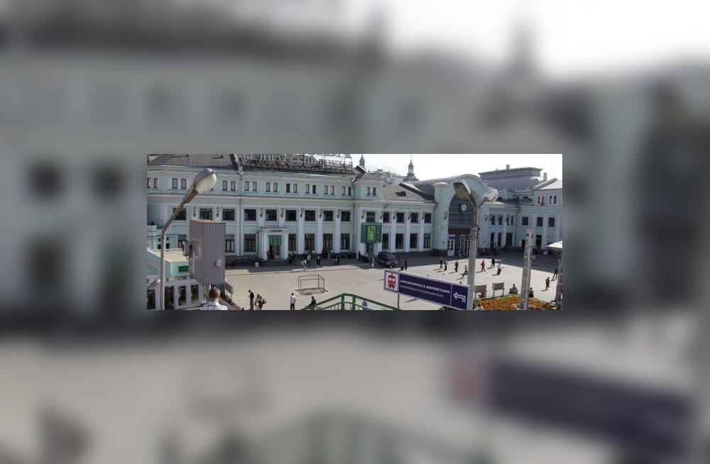 Moskvas põles üks üheksast suurest vaksalist