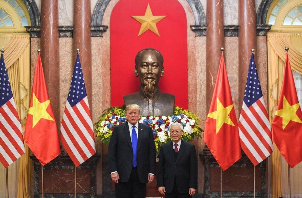 """Trump teatas, et """"tema sõber"""" Kim Jong-un võiks õppida Vietnamilt"""