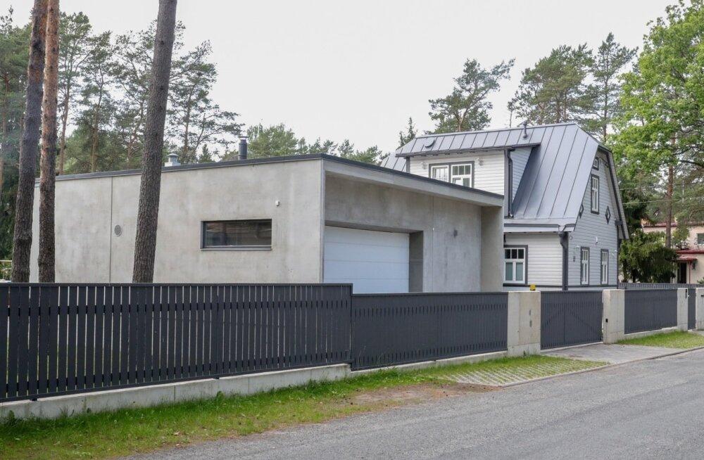 Бизнесмен построил в Нымме дом, не соответствующий проекту: соседи негодуют