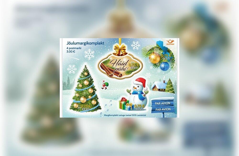 Tänavused Eesti jõulumargid lõhnavad taas. Kui palju Eesti Post neilt teenida loodab?