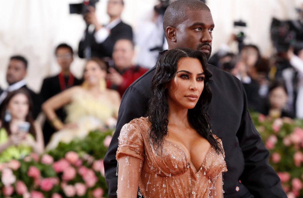 See on kindel! Kim Kardashian ja Kanye West valisid oma neljandale lapsele väga veidra nime