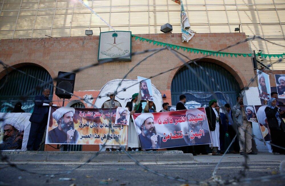 Iraani väitel tabas saudide juhitud õhurünnak tema saatkonda Jeemenis