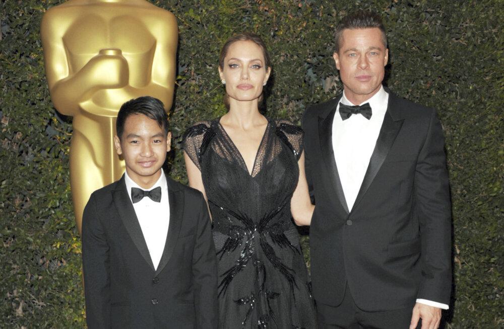 KARM! Angelina Jolie pärandab kogu oma vara ühele lapsele, ülejäänud viis last jäävad varanduseta