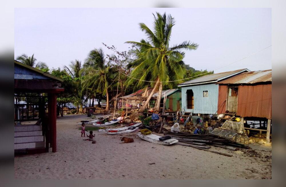 Reisikiri Kambodžast, 3. osa: Aegluubis saareelu