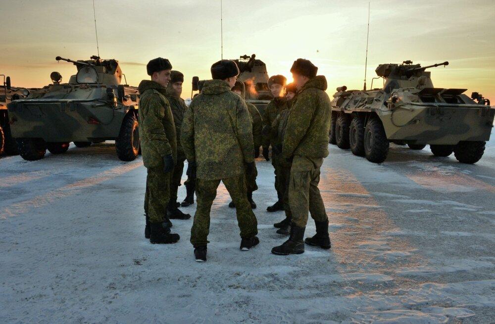 Venemaa lääne sõjaväeringkonnas toimub lahinguvalmiduse kontroll