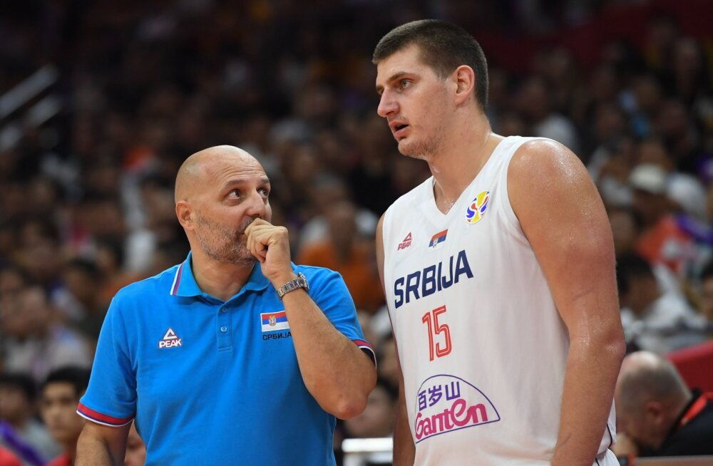 Aleksandar Djordjevic ja Nikola Jokic