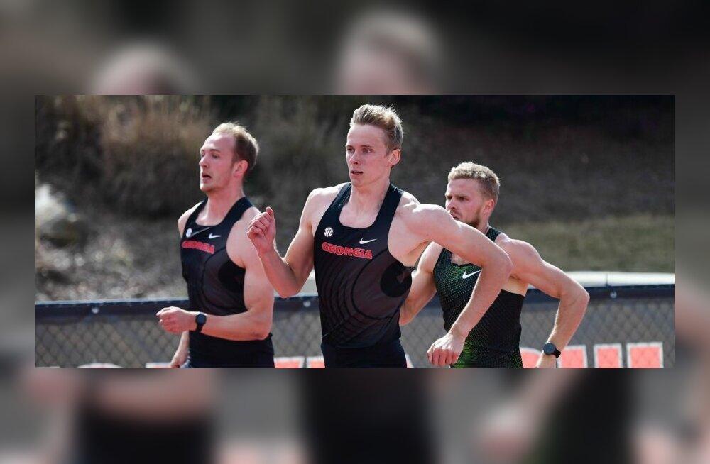 Kas Eesti mitmevõistlejad võtavad USA ülikoolide meistrivõistlustel kaksikvõidu? Erm: haiguse tõttu pole ma eesmärke pannud