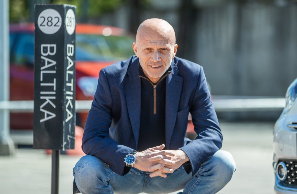 Baltika juht Flavio Perini
