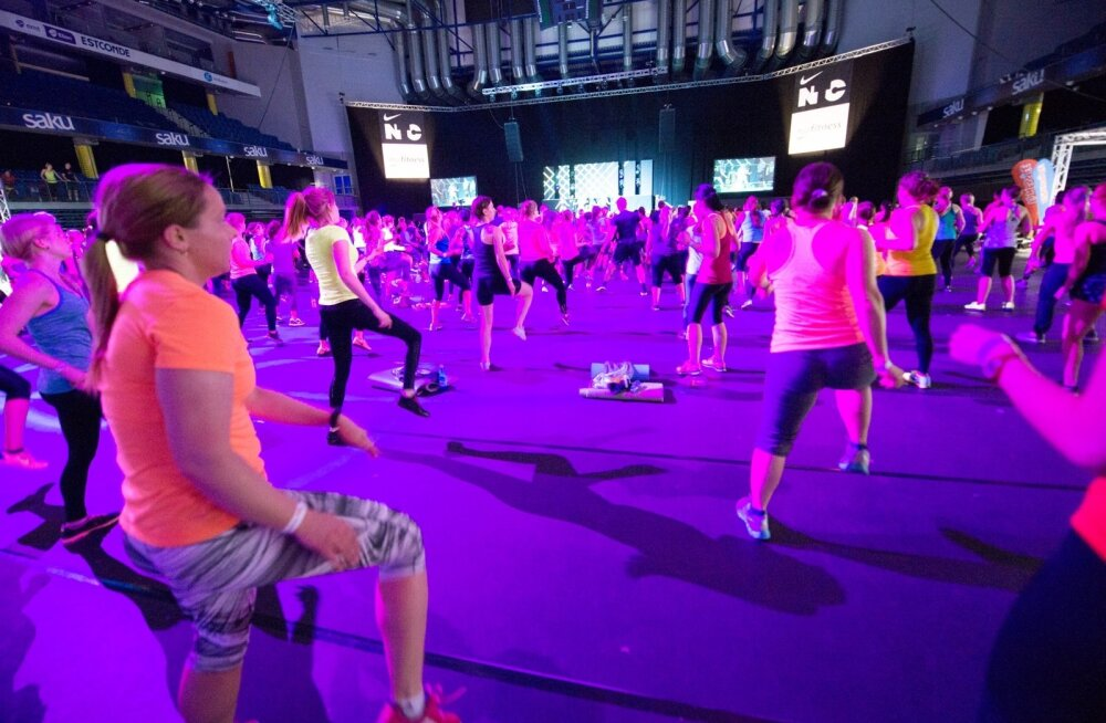 Nike Fitness training Saku Suurhall