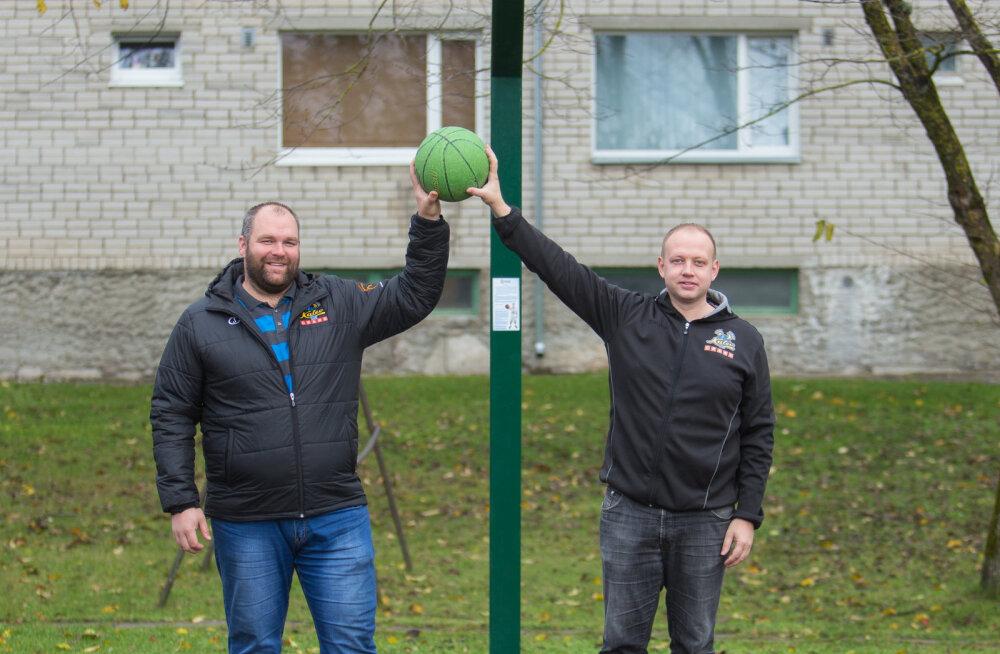 MEIE MAA   Kuressaares on Eestis ainulaadsed korvpalliväljakud