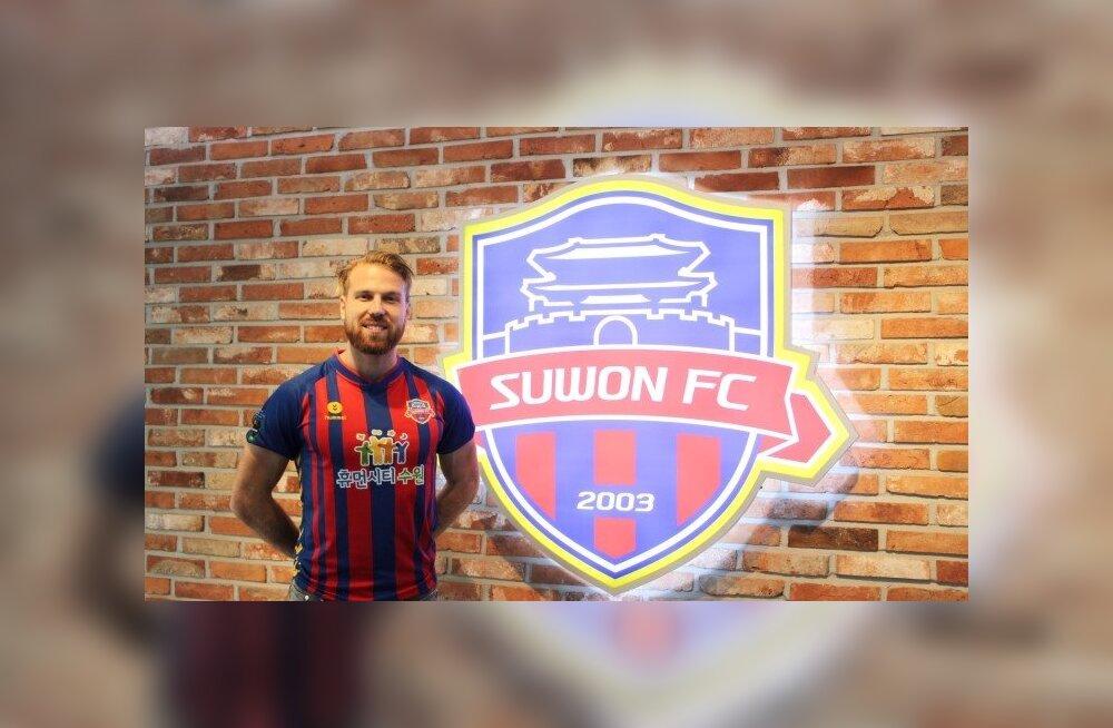 Totaalselt ootamatu lüke: Henri Anier hakkab mängima Lõuna-Korea esiliigas