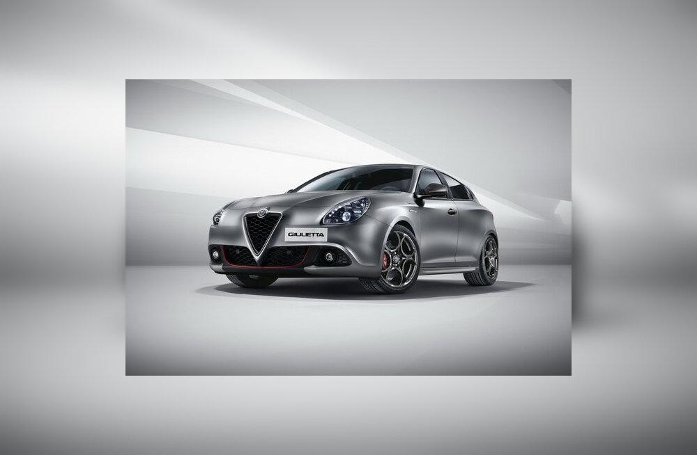 Alfa Romeo avaldas uuendatud luukpära Giulietta