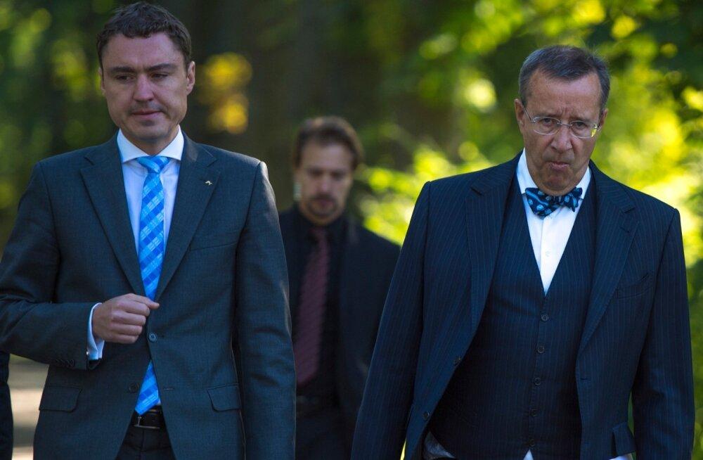 Rõivas president Ilveselt kriitikat saanud protsessist: antud juhul aitas see demokraatlikule debatile kaasa