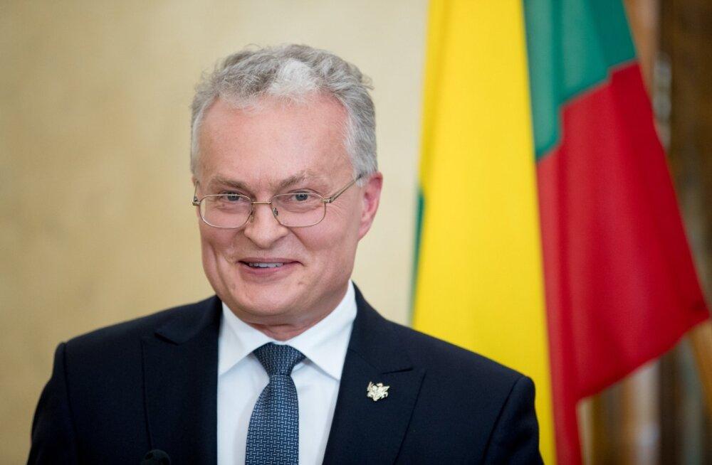 Leedu president Nausėda: Lukašenkat ei saa Valgevene seaduslikuks presidendiks pidada