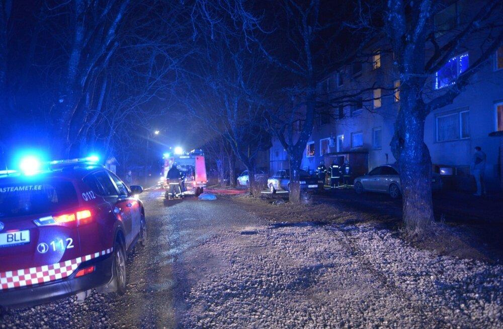 Viljandimaal hukkus tulekahjus inimene