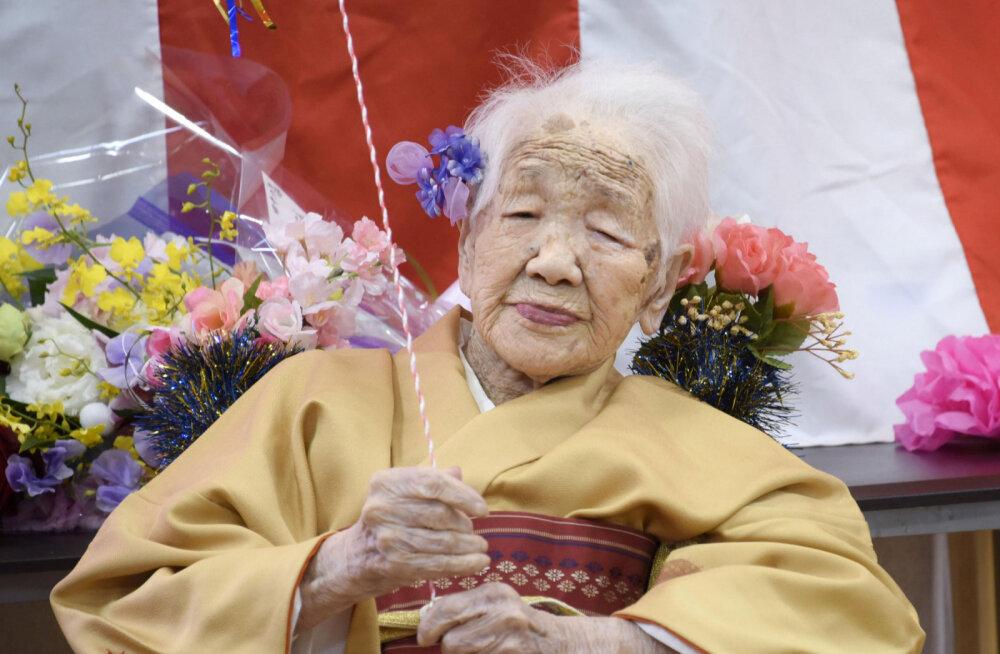 FOTOD   Maailma vanim inimene on 117-aastane!