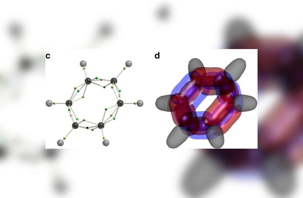 Kolmest jääb väheks: benseeni elektronstruktuur eksisteerib mitte vähem kui 126 mõõtmes!
