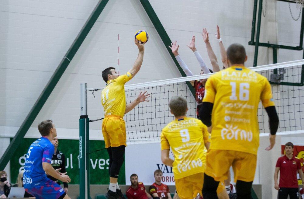 Võrkpall Tallinna Selver vs Pärnu 24.10.2020